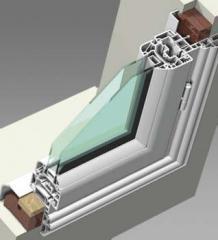System ram renowacyjnych do montażu okien w budynkach zabytkowych, bez demontażu starych ościeżnic drewnianych oraz do budowy okien przeznaczonych na rynek francuski oraz włoski