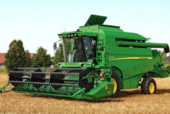 Combines for farming