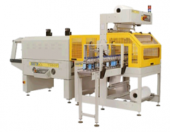 Automatic shrink wrapping lines