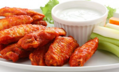 Canned chicken wings