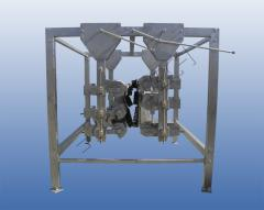 Machine for individually plucking of poultry