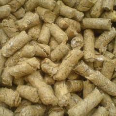 Pellet ze słomy , granulat
