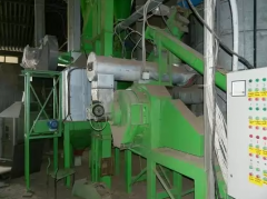 Equipment for the production of fertilizers