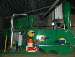 Máquinas de granular forraje