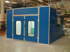 Coating booths