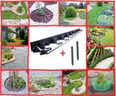 Uniwersalne obrzeże do ogrodu, obrzeża do