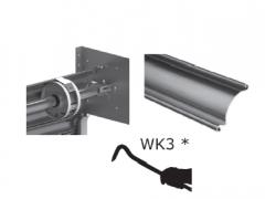 Brama aluminiowa z systemem sprężynowym