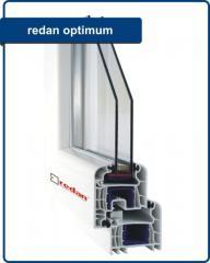 Okna PVC -  Redan Optimum, Round Line