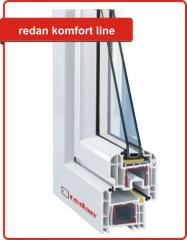 Okna PVC - Komfort Line