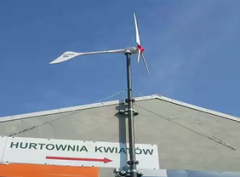 Wind-driven electrical stations