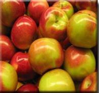 Świeże polskie jabłka.