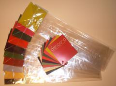 Bags packaging folded