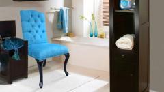Stylowe pikowane krzesło RALF
