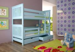 Łóżko dla dzieci piętrowe PATRYK