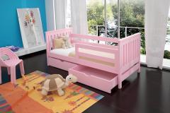 Łóżko dla dzieci parterowe MONIA