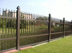 Ogrodzenia z PVC