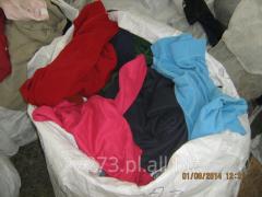 Bluzy polarowe, odzież używana, bluza second hand.