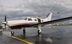 Private or business propeller aircraft