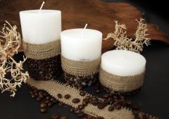 Świeca z kawą