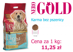 Bezglutenowa karma Nero Gold Light &