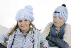 Czapki dziecięce zimowe
