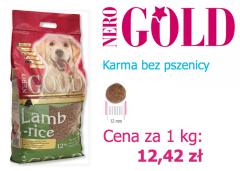 Karma Nero Gold Lamb & Rice 12 kg - bez