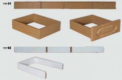 Boxes sliding