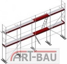 Rusztowania elewacyjne w sys. Plettac - Pole 3,0m Zestaw 78 m2 / Podest drewniany