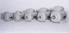 Motors used in the drying