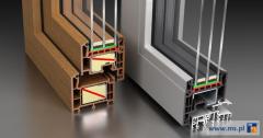 Okna Wood Look produkowane z niemieckich profili Salamander, okna PCV które wyglądają jak drewniane