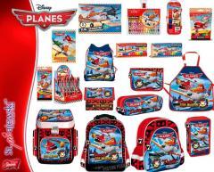 Produkty szkolne z licencji PLANES - tornistry,