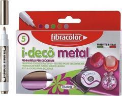 Mazaki artystyczne I-DECO METAL x5 Fibracolor