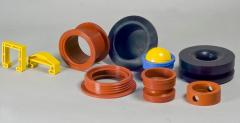 Rubber articles for the technical application
