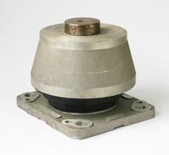 Amortyzator gumowo - metalowy.