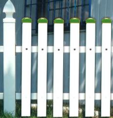 Płoty z PVC różne rodzaje przęseł