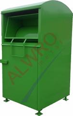 Kontenery i pojemniki  do recyclingu  model