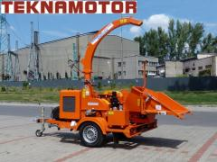 Mobile chippers - drum Skorpion 280 SDB