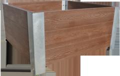 Estetyczne donice z drewna polimerowego
