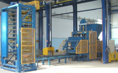 Concrete products manufacturing equipment