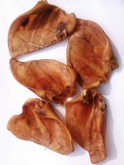 Uszy wieprzowe suszone