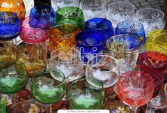 Patery ze szkła dekoracyjnego