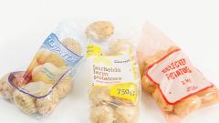 Jednorazowe torebki foliowe do pakowania owoców i warzyw