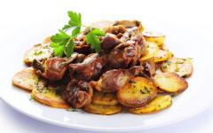 Żołądki kurze , mięso , drób , podroby