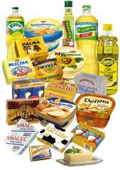 Masło,Mixy smakowe, Margaryny , Oleje, Oliwy,