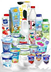 Sour milk products
