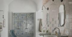 Ceramic tile for exterior finish work