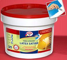 Latex satine