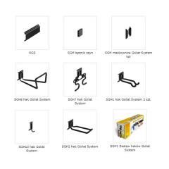 System haków garażowych Goliat