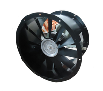 Standard axial flow duct fans up to 40 °C