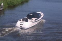 Stylish multi-purpose motorboat for inland and sea